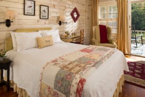 Room in the Mountains Near Atlanta, the perfect place to cross items off your North Georgia Weekday Getaway Itinerary