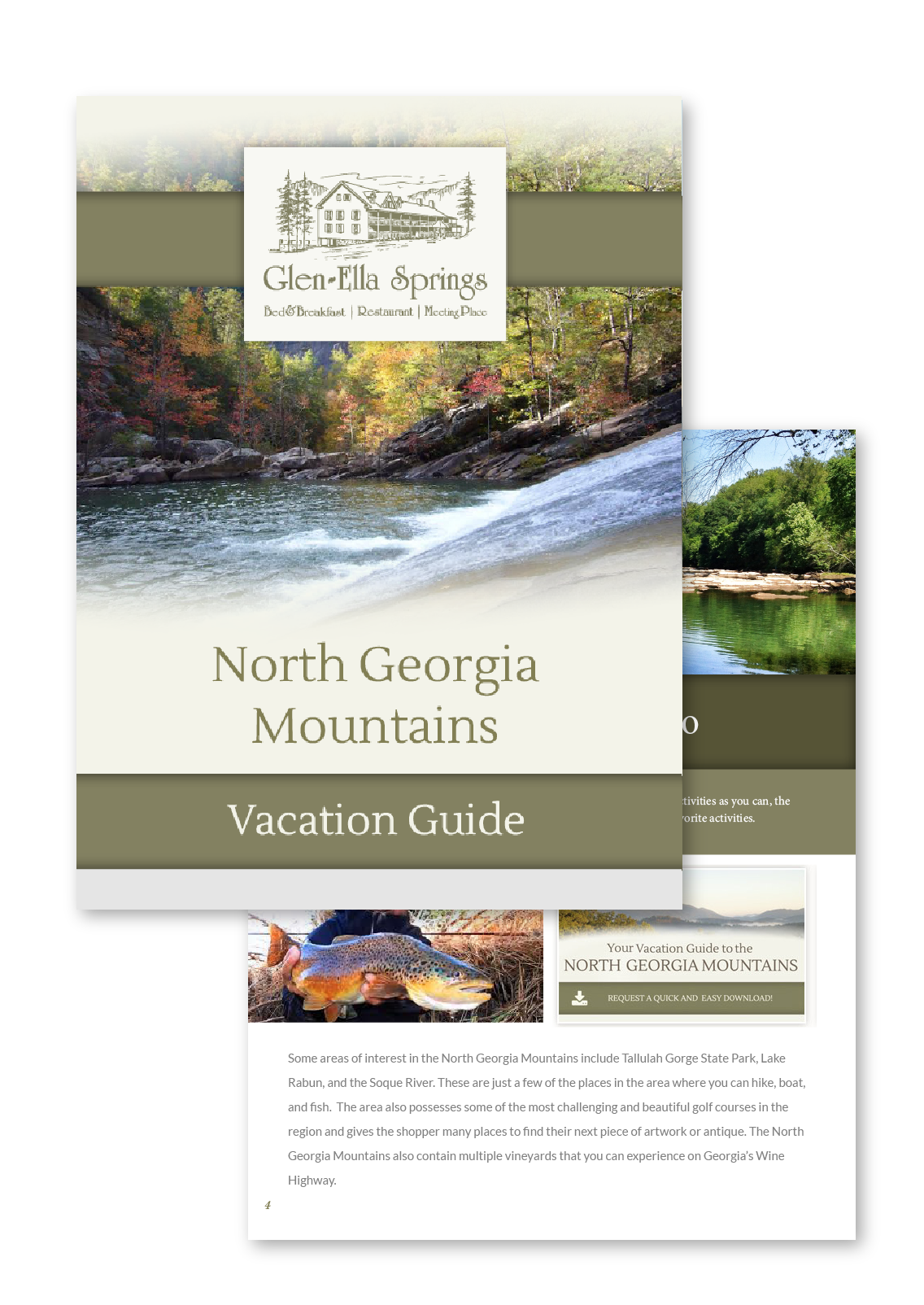 Request your North Georgia Mountains Vacation Guide