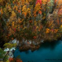 Scenery around Tallulah Falls Lake