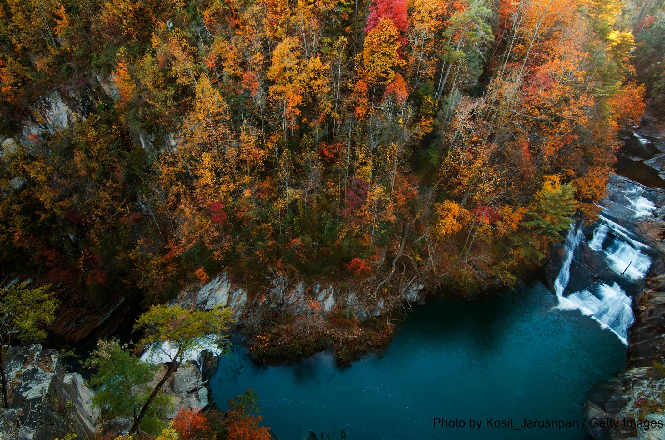 Enjoy A Warm Day At Tallulah Falls Lake