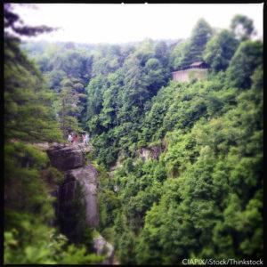 Tallulah Gorge hiking trails