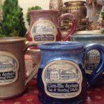 Hand thrown stoneware mug