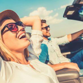 Couple enjoying North Georgia scenic drives