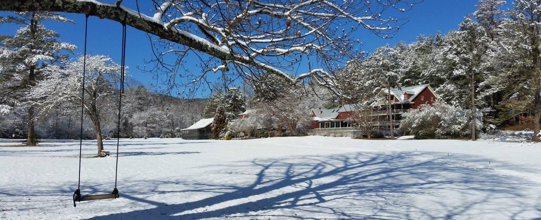 Glen-Ella in the Snow - January