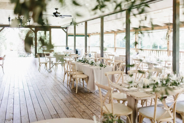 Glen Ella Springs Inn indoor reception venue